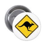 kangaroo warning danger in australia day