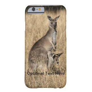 Kangaroo with Baby Joey in Pouch Barely There iPhone 6 Case