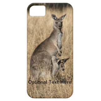 Kangaroo with Baby Joey in Pouch Case For The iPhone 5