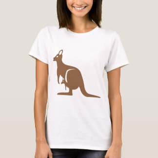 Kangaroo with baby T-Shirt