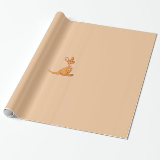 Kangaroo Wrapping Paper