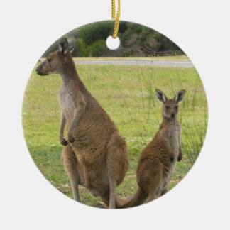 Kangaroos Christmas Ornament