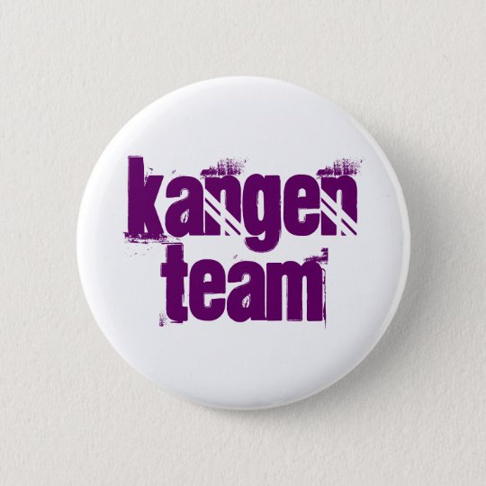 Kangen Team Button Purple Letters