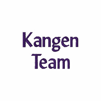 Kangen Team Embroidered Dark Purple Letters Polo