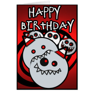 Kaniballz Birthday Card