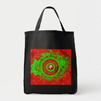 Kanji For Peace Grocery Tote Bag