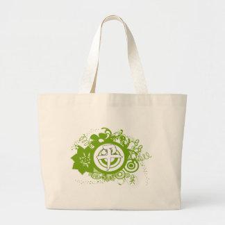 Kanji For Peace Jumbo Tote Bag