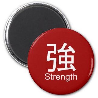 Kanji for strength T-shirt Refrigerator Magnet