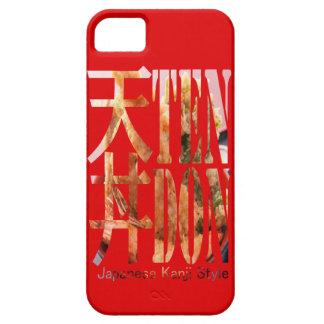 "< Kanji >Japaneese food ""TEN-DON"" Typography iPhone 5 Covers"