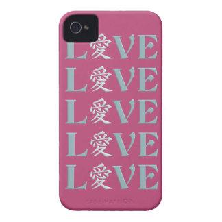 Kanji Love iPhone 4 case-mate