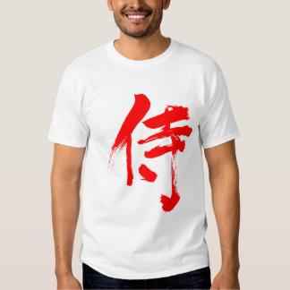 [Kanji] Samurai Tshirts