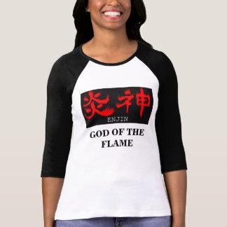 KANJI T-shirt=ENJIN (GOD OF THE FLAME)