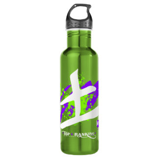 Kanji/Warrior Water Bottle (24 oz), Apple