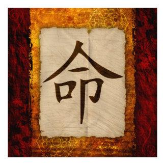 Kanji Zen Destiny Photo