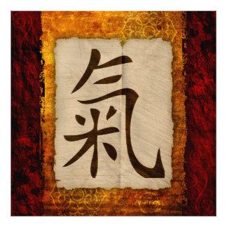 Kanji Zen Energy Photo