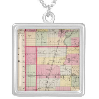 Kankakee, Iroquois, Ford counties Silver Plated Necklace