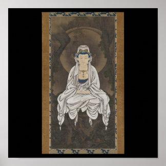 Kannon Bodhisattva of Compassion c 1500 s Posters
