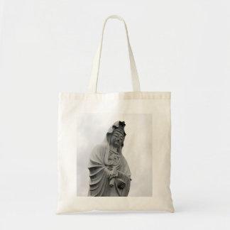 Kannon Statue of Takasaki Tote Bags