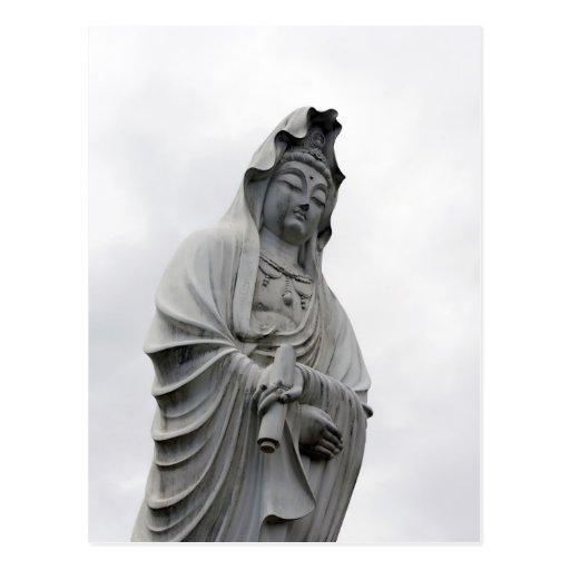 Kannon Statue of Takasaki Postcard