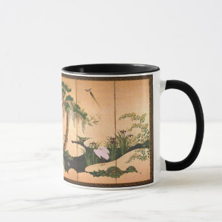 Kano Eino Birds and Flowers of Spring and Summer Mug
