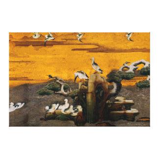Kano Sanraku Gallery Wrapped Canvas