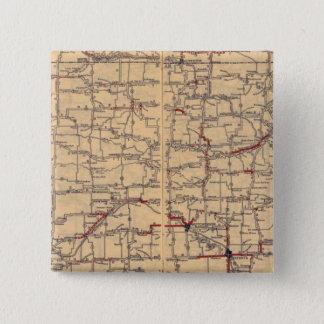 Kansas 15 Cm Square Badge
