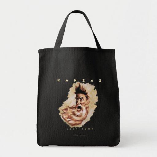 KANSAS - 1974 Tour Canvas Bags