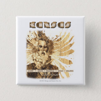 KANSAS - 2006 Tour 15 Cm Square Badge