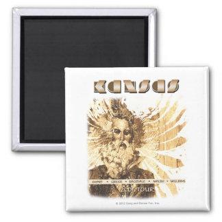 KANSAS - 2006 Tour Magnet