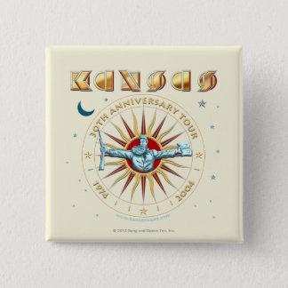 KANSAS - 30th Anniversary 15 Cm Square Badge