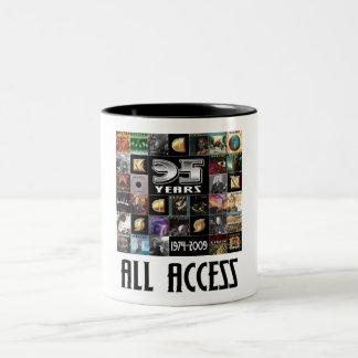 KANSAS - 35th Anniversary Two-Tone Coffee Mug
