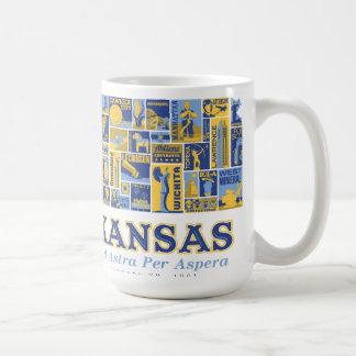 Kansas - Ad Astra Per Aspera -  Mug