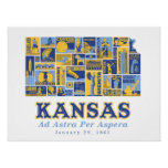 Kansas - Ad Astra Per Aspera - Poster
