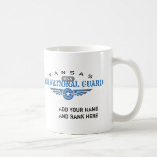 Kansas Air National Guard Coffee Mugs
