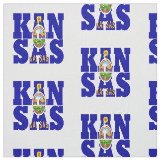 Kansas American state flag Fabric