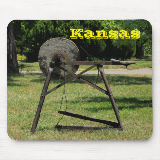 Kansas Antique Petal Grinder Mouse Pad