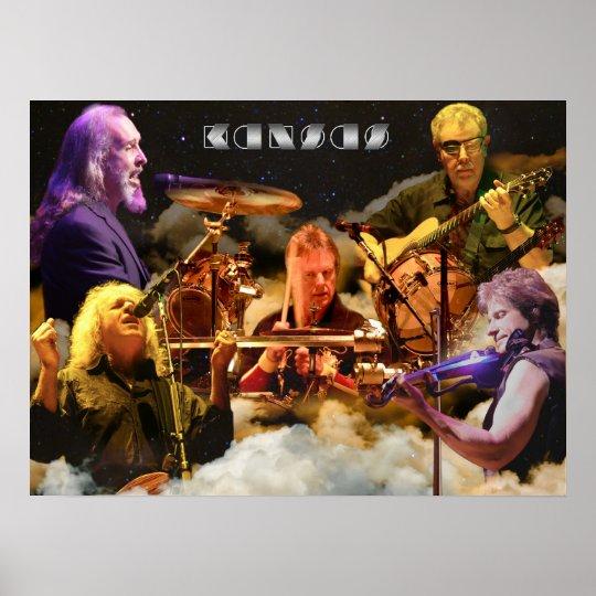 KANSAS Band Photo (2012) Poster