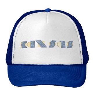KANSAS (Blue and Gold) Mesh Hats