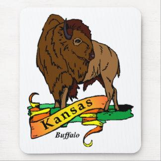 Kansas Buffalo Mouse Pads