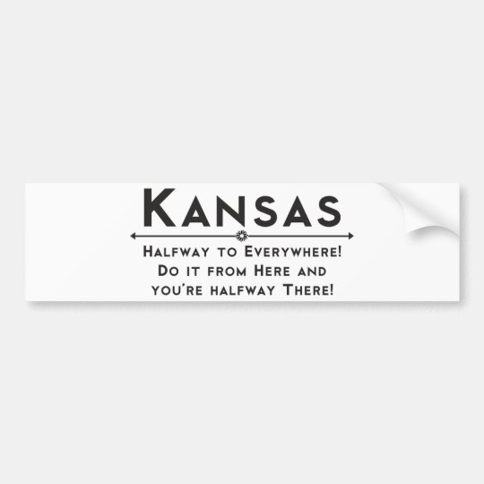 Kansas Bumber Sticker