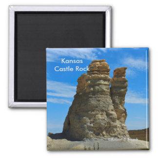 Kansas Castle Rock MAGNET