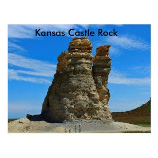 Kansas Castle Rock Post Card