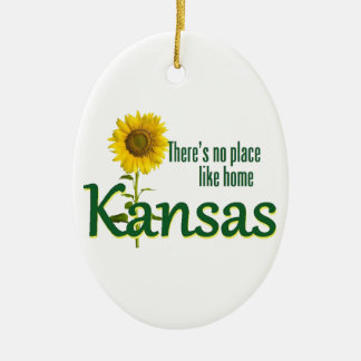 KANSAS CHRISTMAS ORNAMENT