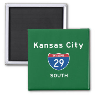 Kansas City 29 Magnet