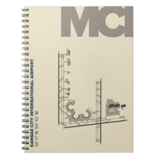 Kansas City Airport (MCI)  Diagram Notebook
