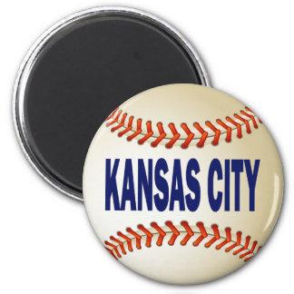 KANSAS CITY BASEBALL MAGNET