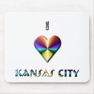 Kansas City -- Brown Blue & Gold Mousepads