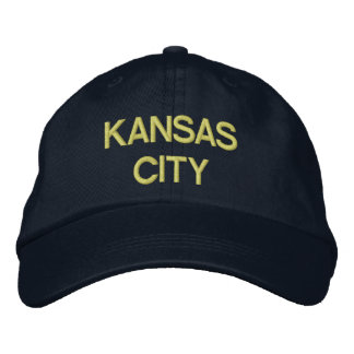 Kansas City Cap Embroidered Hats