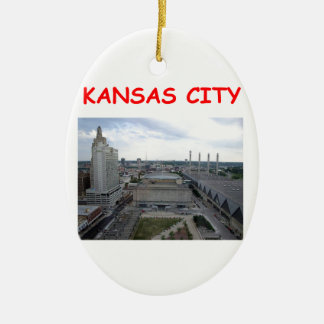 kansas city christmas ornament