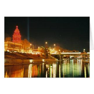 Kansas City Country Club Plaza Lights Card